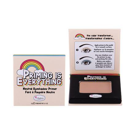 TheBalm Priming is Everything Mineral Eyeshadow Lidschatten 0,57 g Farbton Neutral für Frauen