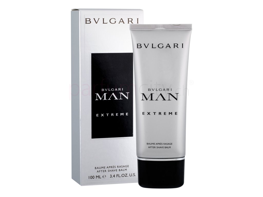 Bvlgari Man Extreme After Shave Balsam Edt Parfum For Men 100 Ml