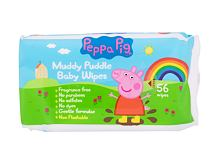 Lingettes nettoyantes Peppa Pig Peppa Baby Wipes 56 St.
