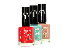 Nagellack Rimmel London Super Gel By Kate STEP1 12 ml 021 New Romantic