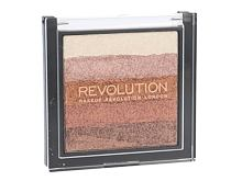 Highlighter Makeup Revolution London Shimmer Brick 7 g Rose Gold
