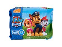 Lingettes nettoyantes Nickelodeon Paw Patrol Baby Wipes 90 St.