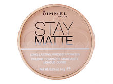 Puder Rimmel London Stay Matte 14 g 009 Amber