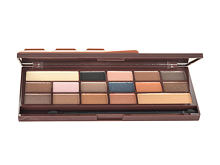 Lidschatten Makeup Revolution London I Heart Makeup I Heart Chocolate Caramel Palette 22 g