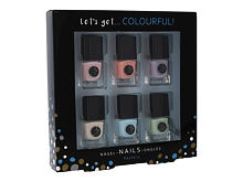 Vernis à ongles 2K Let´s Get Colourful! Pastels 5 ml Sets