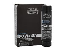 Haarfarbe  L´Oréal Professionnel Homme Cover 5´ 3x50 ml 3 Dark Brown