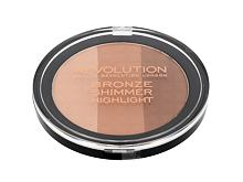 Puder Makeup Revolution London Ultra Bronze, Shimmer And Highlight 15 g