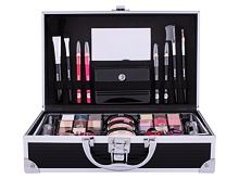 Palette de maquillage 2K Fabulous Beauty Train Case Black 66,9 g
