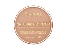 Bronzer Rimmel London Natural Bronzer SPF15 14 g 026 Sun Kissed