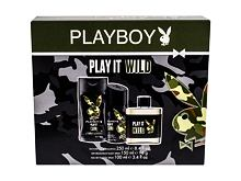 Eau de Toilette Playboy Play It Wild For Him 100 ml Sets