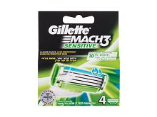 Lama di ricambio Gillette Mach3 Sensitive 4 St.