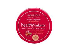 Puder BOURJOIS Paris Healthy Balance 9 g 55 Dark Beige