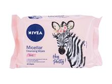 Lingettes nettoyantes Nivea Cleansing Wipes Micellar 3in1 25 St.