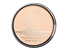Puder Rimmel London Stay Matte 14 g 005 Silky Beige