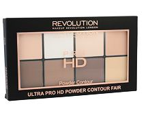 Puder Makeup Revolution London Ultra Pro HD Powder Contour Palette 20 g Fair