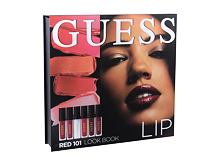Lippenstift GUESS Look Book Lip 4 ml 101 Red Sets