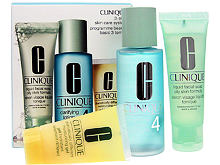 Reinigungswasser Clinique 3-Step Skin Care 4 100 ml Sets