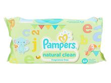 Lingettes nettoyantes Pampers Baby Wipes Natural Clean 64 St.