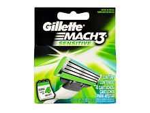 Lame de rechange Gillette Mach3 Sensitive 4 St.