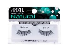 Ciglia finte Ardell Natural Babies 1 St. Black Sets