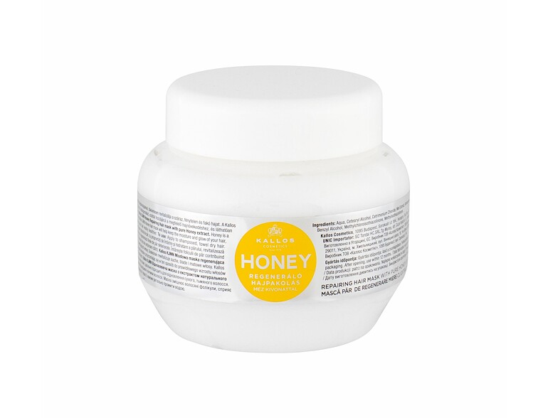 Maschera per capelli Kallos Cosmetics Honey 275 ml