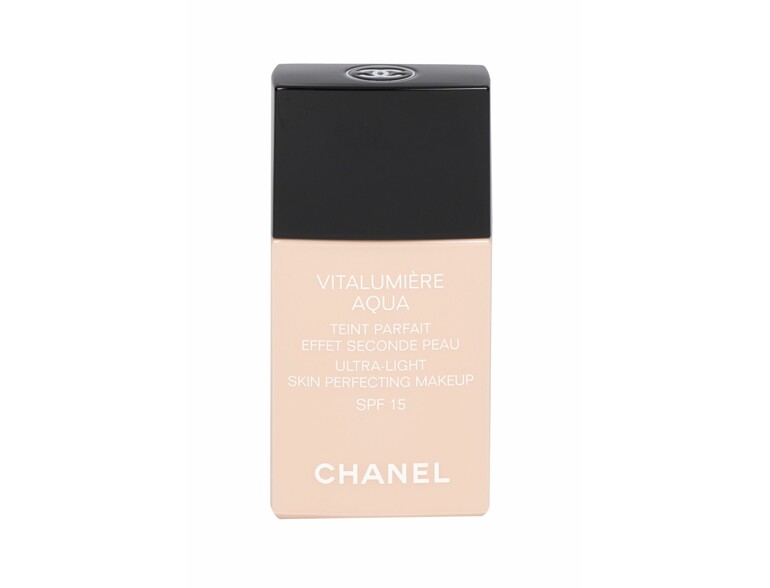 Make-up e fondotinta Chanel Vitalumière Aqua SPF15 30 ml 50 Beige