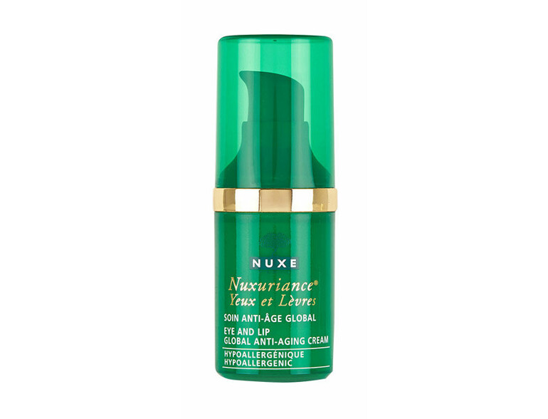 Augencreme NUXE Nuxuriance Eye And Lip Contour Anti-Aging Cream 15 ml