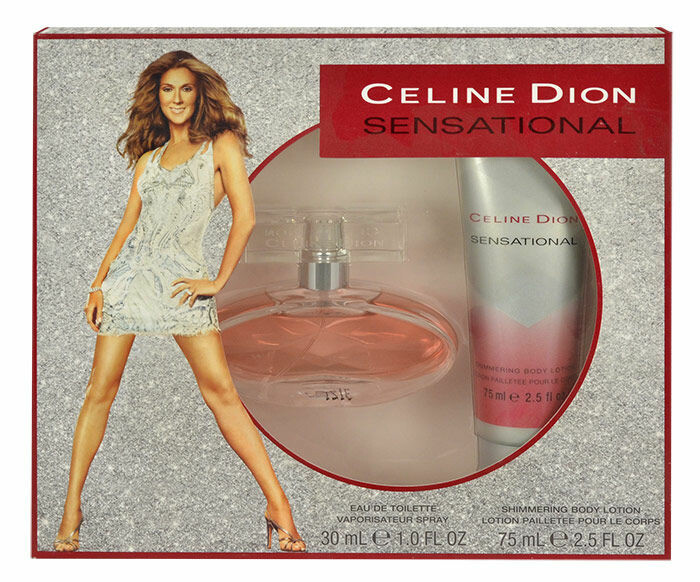 Eau de Toilette Céline Dion Sensational 30 ml Sets