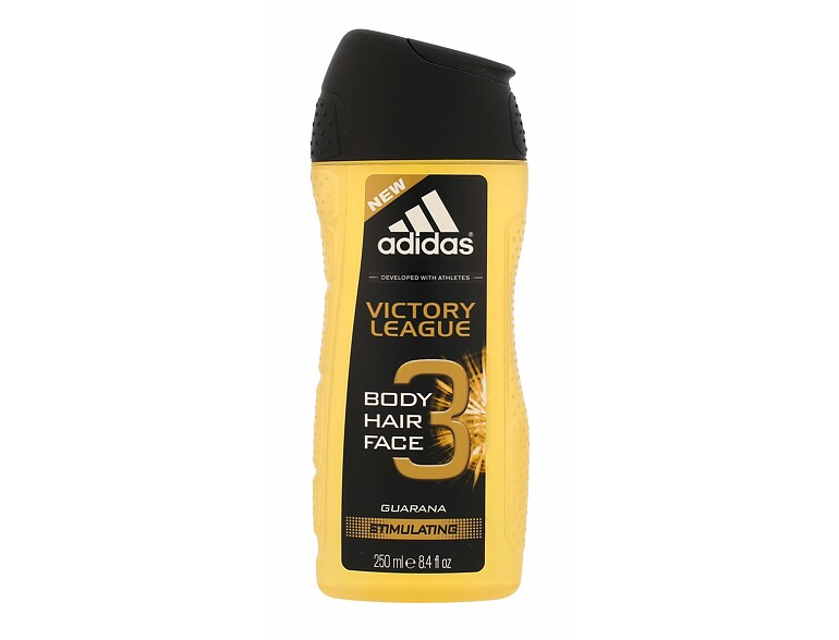 Duschgel Adidas Victory League 3in1 250 ml