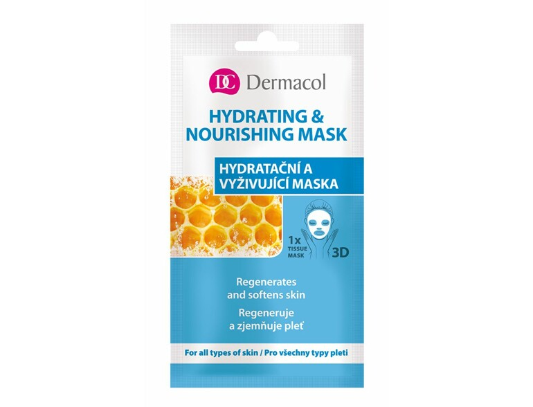 Gesichtsmaske Dermacol Hydrating & Nourishing Mask 15 ml