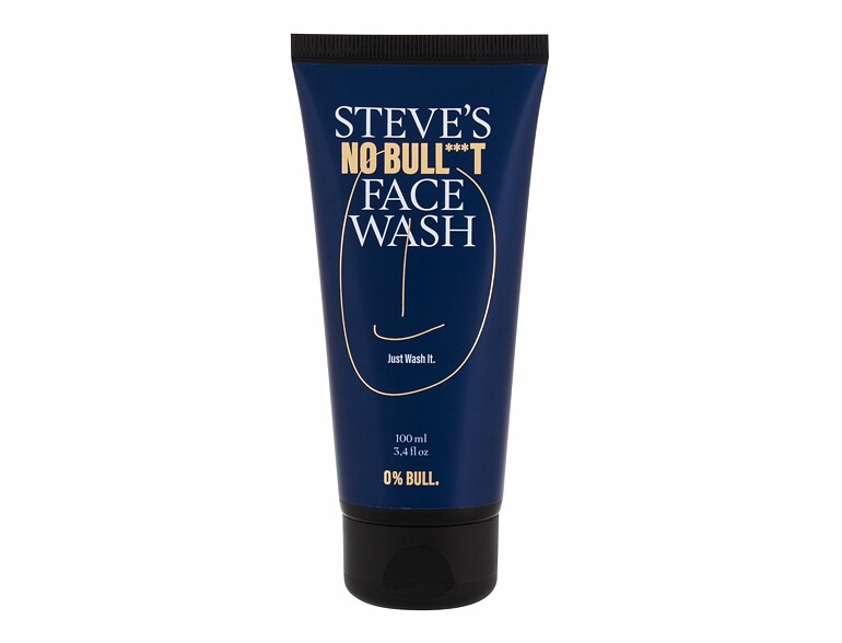 Gel detergente Steve´s No Bull***t Face Wash 100 ml
