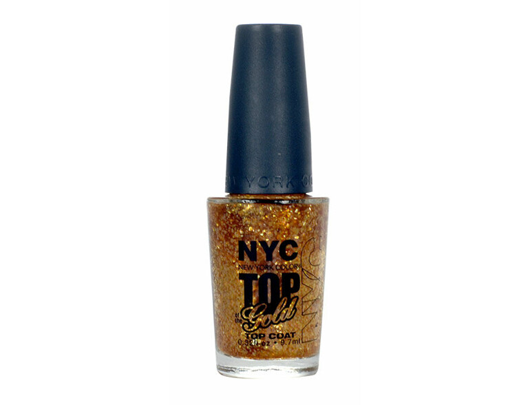 Nagellack NYC New York Color Top of the Gold 9,7 ml 010 Top of the Gold