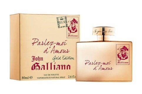 Eau de Toilette John Galliano Parlez-Moi d´Amour Gold Edition 80 ml Tester