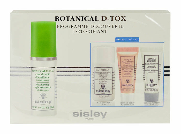 Gesichtsserum Sisley Botanical D-Tox Night Treatment 30 ml Sets