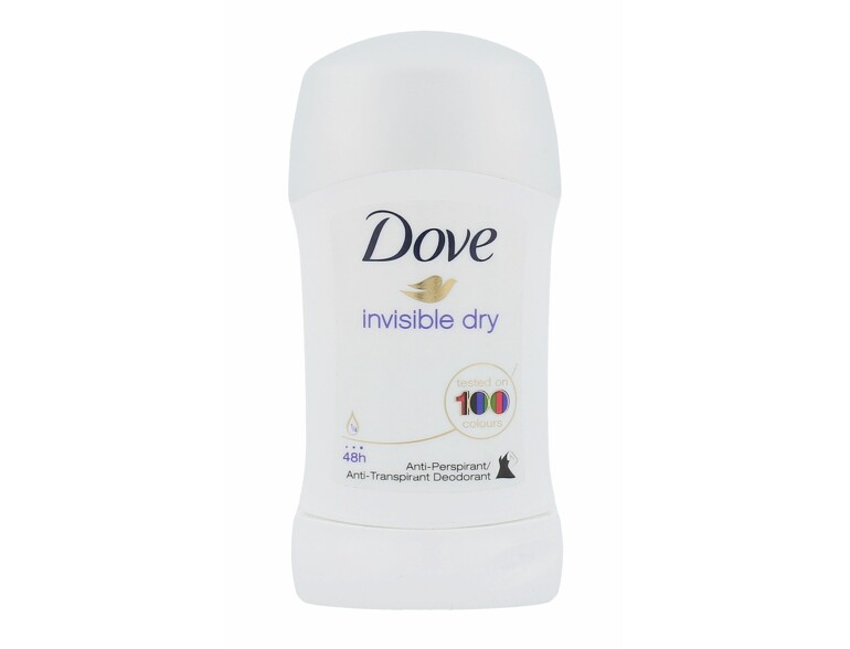 Antiperspirant Dove Invisible Dry 48h 40 ml