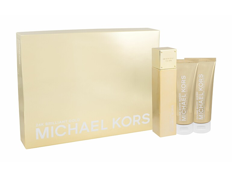 Eau de Parfum Michael Kors 24K Brilliant Gold 100 ml Sets
