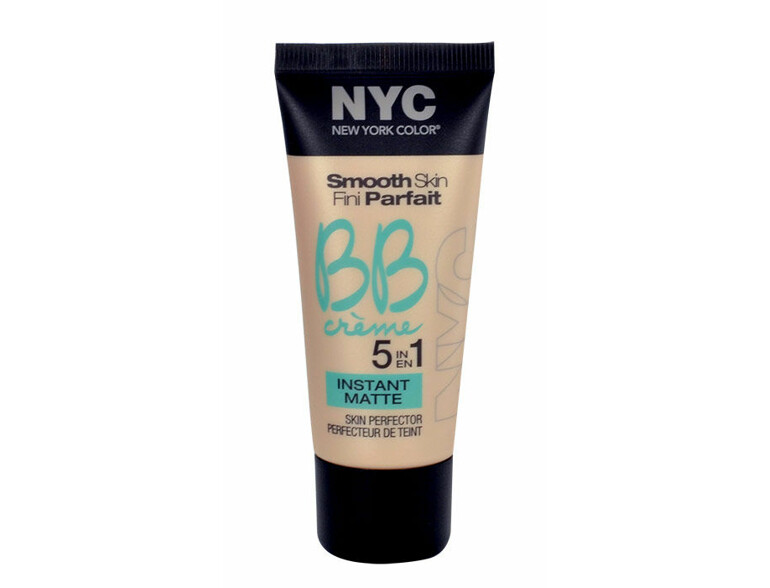 BB Creme NYC New York Color Smooth Skin Fini Parfait 5in1 Instant Matte 30 ml 01 Light