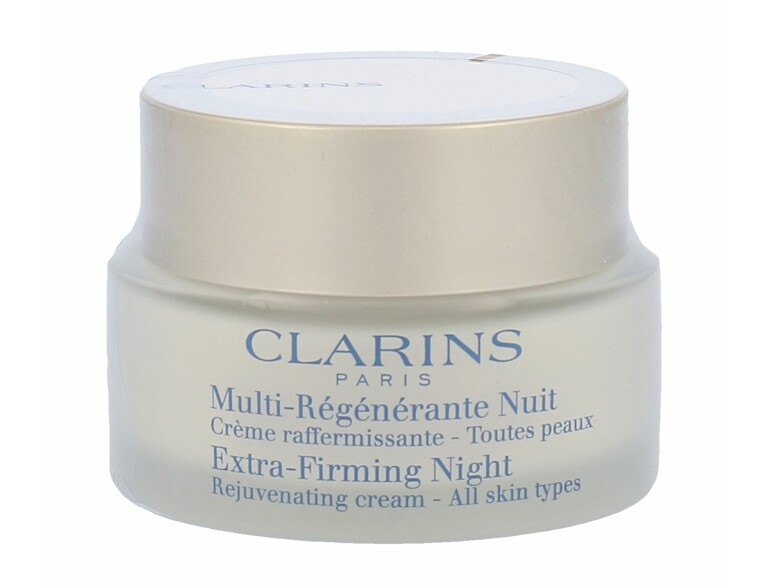 Nachtcreme Clarins Extra-Firming Night Rejuvenating Cream 50 ml Tester