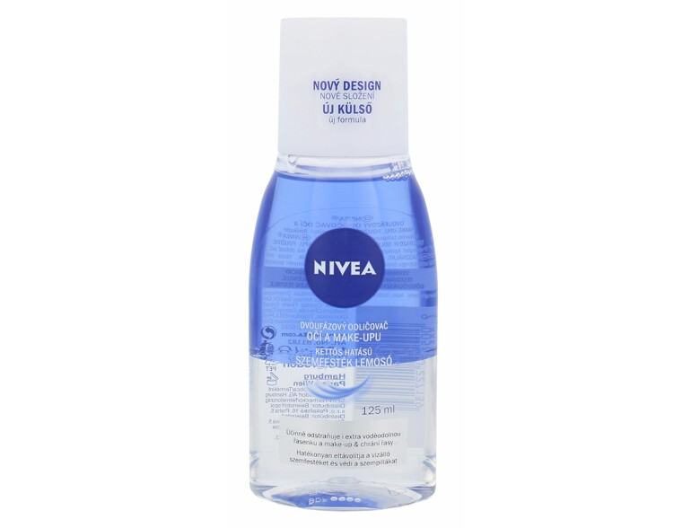 Augen-Make-up-Entferner Nivea Double Effect Eye Make-up Remover 125 ml