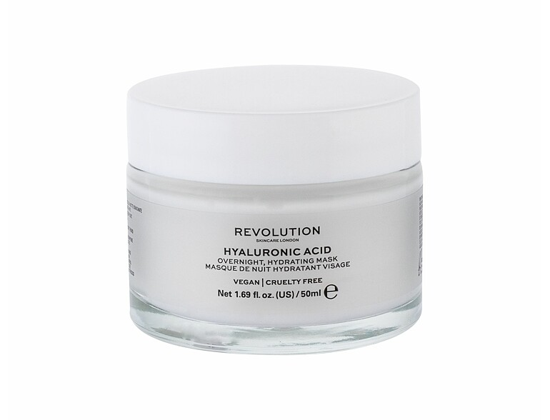 Gesichtsmaske Makeup Revolution London Skincare Hyaluronic Acid 50 ml