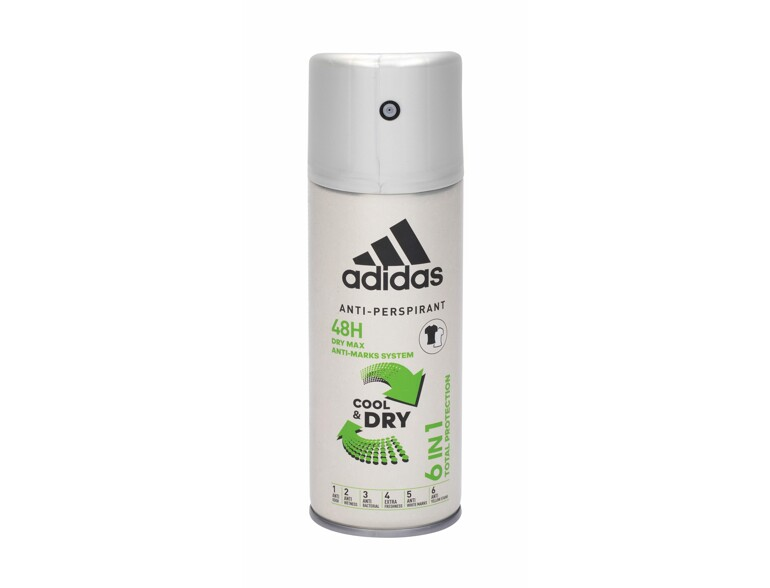 Antiperspirant Adidas 6in1 Cool & Dry 48h 150 ml