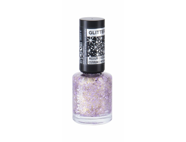 Nagellack Rimmel London Glitter Medium Coverage 8 ml 010 Sparkle Every Day