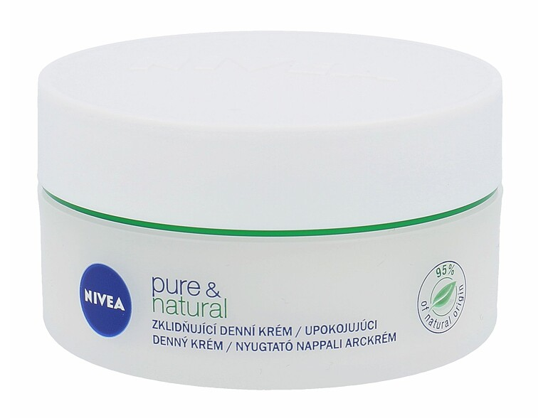 Tagescreme Nivea Pure & Natural 50 ml
