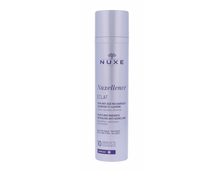 Gesichtsgel NUXE Nuxellence Eclat Youth And Radiance Anti-Age Care 50 ml