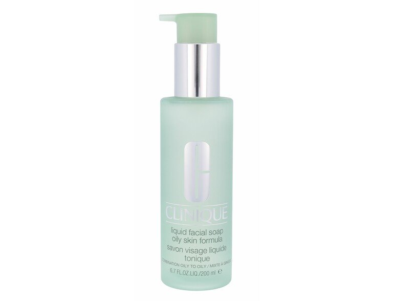 Reinigungsseife Clinique 3-Step Skin Care 1 Liquid Facial Soap 200 ml