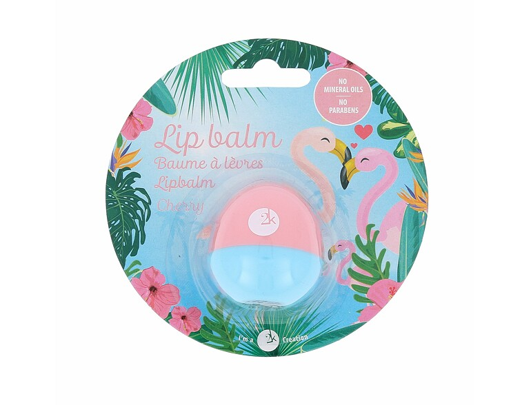Lippenbalsam  2K Animal Lip Balm Flamingo 11 g Cherry