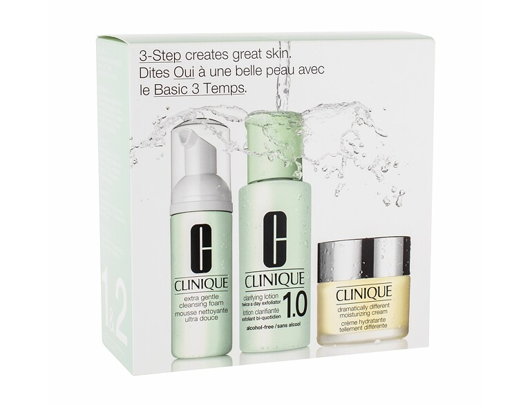 Crème de jour Clinique Dramatically Different Moisturizing Cream 30 ml Sets
