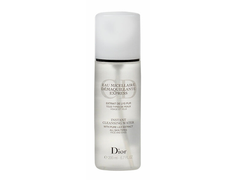 Mizellarwasser Christian Dior Instant Cleansing Water 200 ml