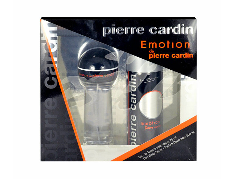 Eau de Toilette Pierre Cardin Emotion 75 ml Sets