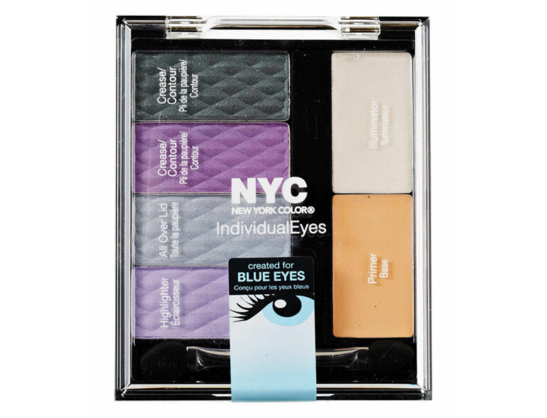Lidschatten NYC New York Color Individual Eyes Custom Palette 9,3 g 945 Midtown Mauve
